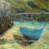 Boat in Harbour (Boscastle)