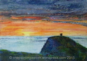 Sunset, Boscastle