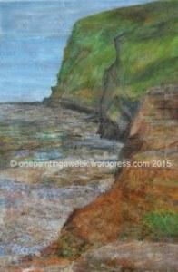 Crackington Haven painting