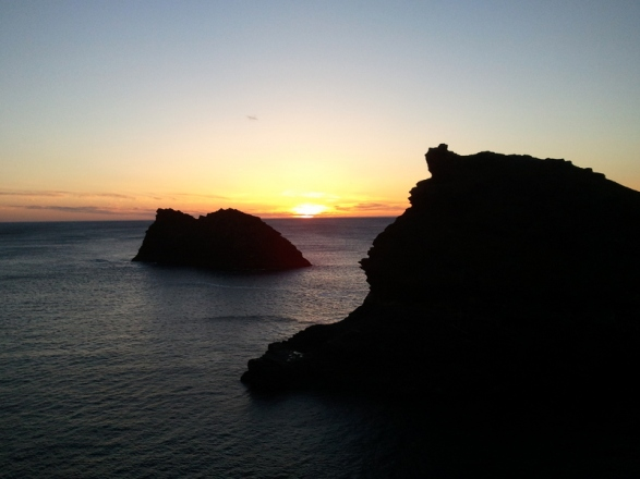 Boscastle Sunset Photo