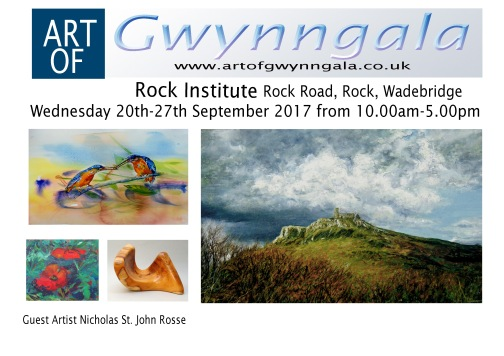 Gwynngala 2017 Art Painting Exhibition Rock Institute