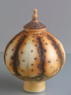 Lidded Vessel by Geoffrey Swindell