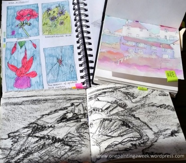 Sketchbooks Cornwall Drawing