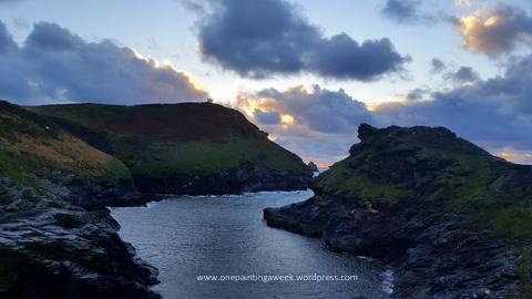 Storm Boscastle Cornwall Photo