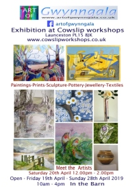 Art of Gwynngala 2019 Cowslip Exhibition