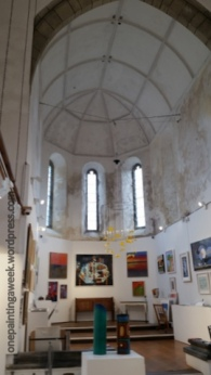 St Ives Society of Artists Gallery in Church